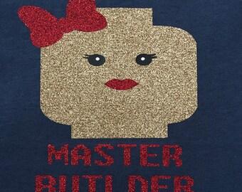 Lego master builder T-shirt/Tank