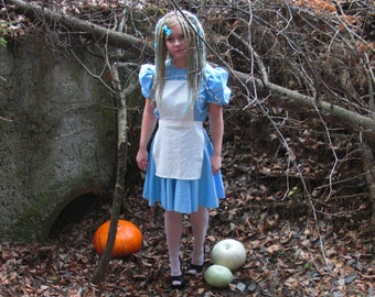 Dress Alice dress Cosplay Helloween costume Alice's in wonderland costume