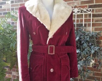 Shearling coat | Etsy
