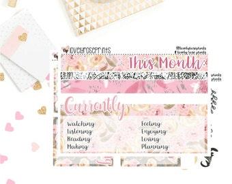 Floral EC Notes Page Kit
