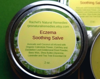 "Eczema Salve  "" Rachel's Natural Remedies"""
