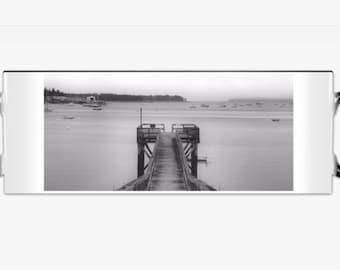 Dock at Aciadia Harbor Mug