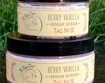Whipped Sugar Scrub ~ Berry Vanilla