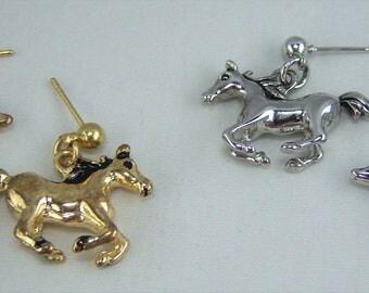 E262, Horse Earrings
