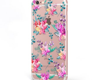 iPhone - Samsung Galaxy - TPU Soft Rubber Cell Phone Case -Beaituful Colorful Flowers- High quality Soft Silicon-Designed and Printed in USA