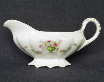 Vintage Crown Potteries Dixie Gravy Boat