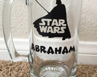 Personalized Star Wars Beer Mug