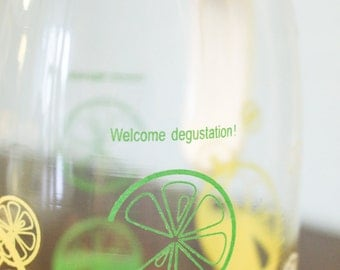 Pyrex Welcome Degustation Lemonade Limeade Juice Pitcher