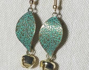 Woodland Spirit Bell Earrings