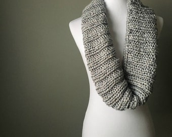 Knitted Rib Cowl | Cowl | Ribbed Cowl | Knitwear | Infinity Scarf | Cowl | Knit Cowl | Scarf | Knit Scarf