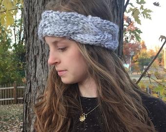 Braided Cable Knit Headband