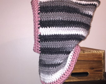 Women's Handmade Crochet Cowl neck Hood