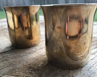 BRONZE TUMBLER - Handmade Kansa (Qty 1)