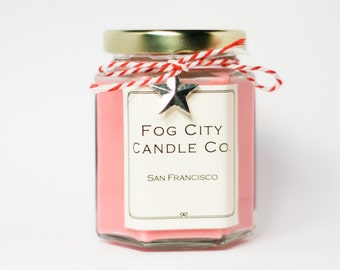 Strawberry Shortcake - Handmade Scented Soy Candle - Gift for Her, Gifts for Him, Home Decor - Best Scented Candles From SF!