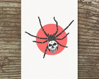 Death Spider Print