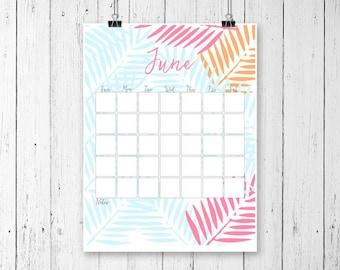 Printable Calendar 2017 Monthly 2017 Wall Calendar Desk