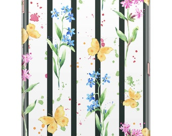 Butterfly Stripes iPad Case