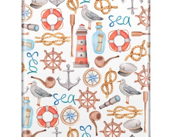 Nautical iPad Case