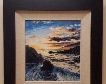 Original oil painting ( Towards Dodman)
