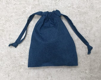 smallbags - 2 sizes - 4 colors-Blue Denim