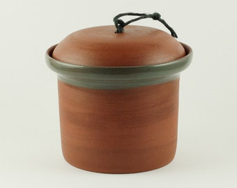 utility canisters, handmade from salt, sugar, Spice jar with lid Creamer