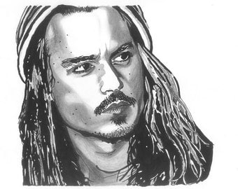 Johnny Depp (Original Artwork)