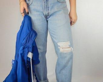 505 Levi's Vintage Distressed Boyfriend Jeans