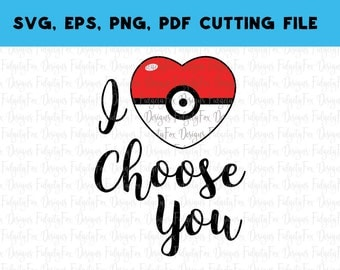 Digital Download Pokemon SVG PDF PNG