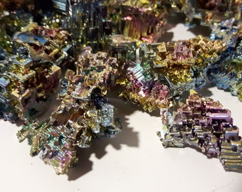 SALE 30% OFF 500 grams of AAA Bismuth Crystals(Whole Sale Price)