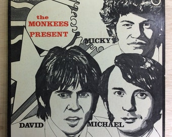 Original Soundtrack 60's Rock The Monkees Present Vintage Colgems Records Vinyl Davy Jones
