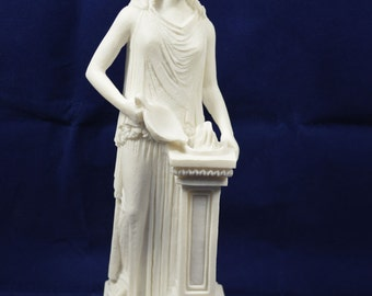 Hestia sculpture statue ancient Greek Goddess of the agriculture