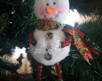 3pcs Christmas snowman for home decoration