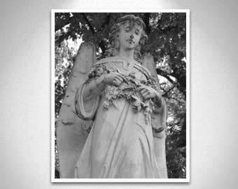 Cemetery Angel Print
