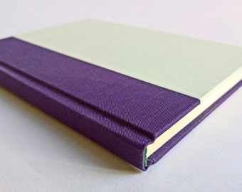 Purple/Mint Notebook Paper Cover