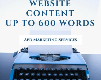 Webpage Content Creation Up To 600 Words