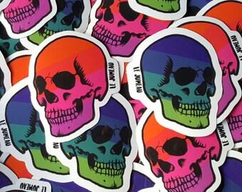 SKULL Stickers / skull stickers