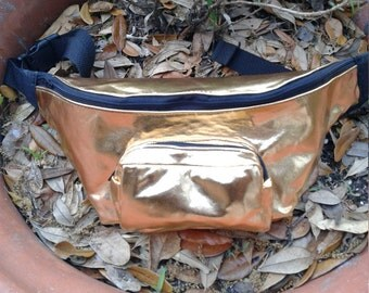 Solid Gold Fanny Pack