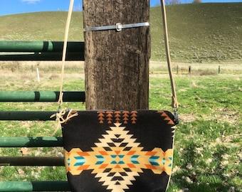 Pendleton wool cross body bag