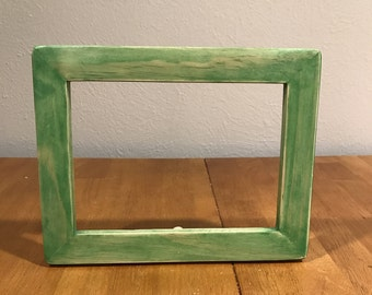 Unique Semi-Transparent Green Frame