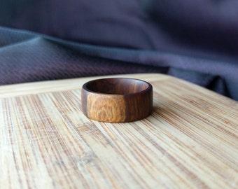 Lignum Vitae Wooden Ring