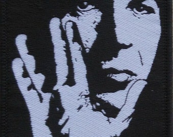 Leonard Nimoy With Vulcan Hand Salute Silhouette Embroidered Patch