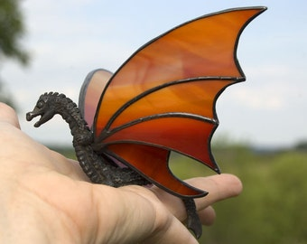 Dragon Hanging Stained Glass Sun Catcher