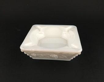 Westmoreland Milk Glass Ash Tray