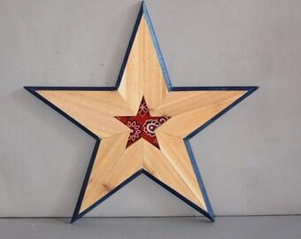 Wooden Star 5115