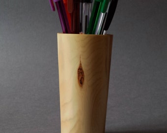 Yew Pen/Pencil Holder