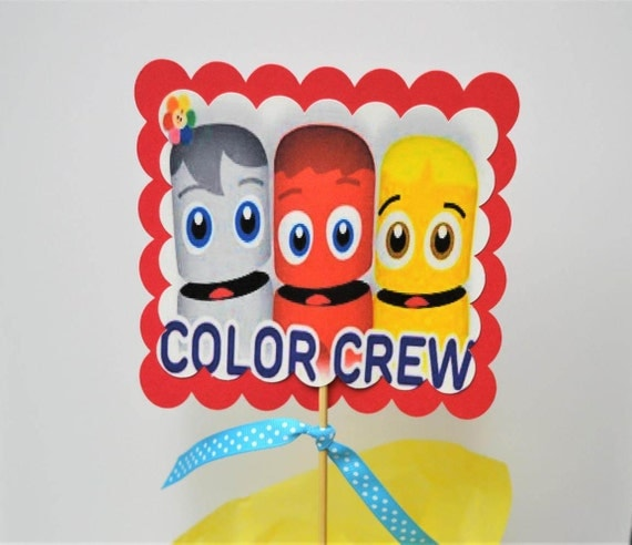 Items Similar To Baby First Tv S Color Crew Centerpieces