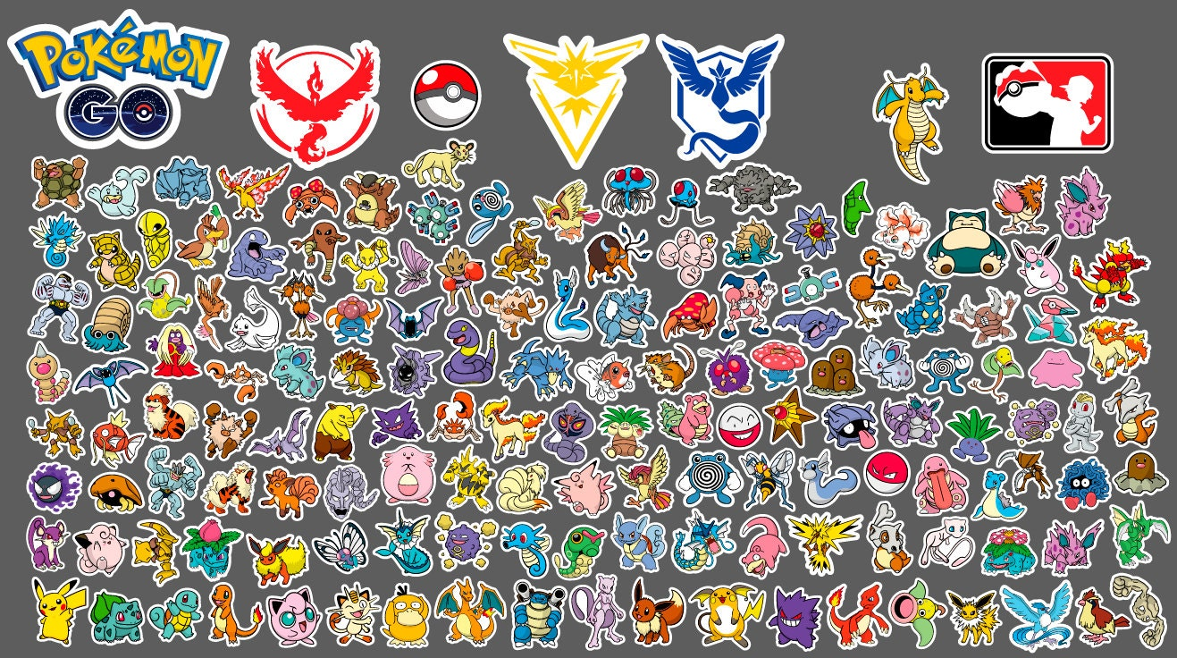 Pokemon svg | Etsy