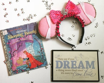 Sleeping Beauty Princess Inspired Mouse Ears