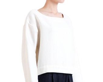 Kiko Loose Cropped Sweater