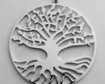 Albero della Vita (Yggdrasil) in Argento 925 realizzato a mano. Unico!!  Tree of Life (Yggdrasil) 925 Sterling Silver handmade.